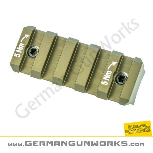 Heckler & Koch 54mm Hkey Picatinny Schiene, RAL8000