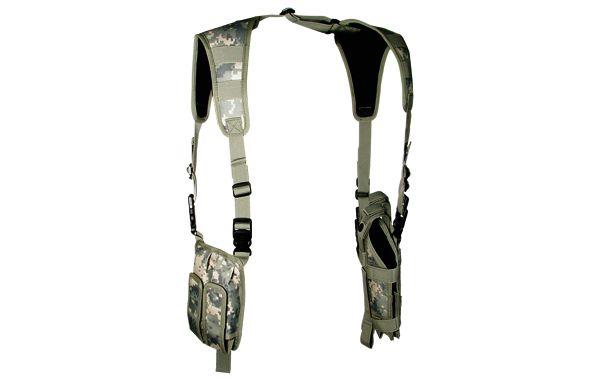 UTG vertikales Schulterholster, Army Digital